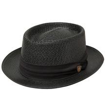 Dobbs Bishop Black Fabric Hat