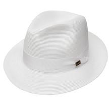 Dobbs Rosebud White Straw Hat