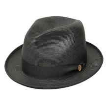 Stetson Latte Black Straw Hat