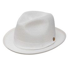 Stetson Latte White Straw Hat