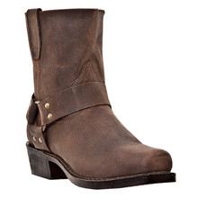 Dingo Rev-Up Gaucho Nutty Mule Leather Boot