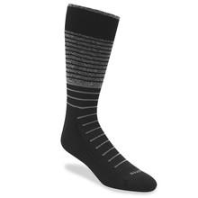 Remo Tulliani Sashe Black & Grey Dress Socks 315505