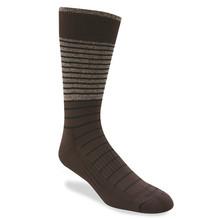 Remo Tulliani Sashe Brown, Navy, & Taupe Dress Socks 315513