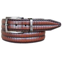 Lejon Piano Bar Cognac Full Grain Leather Belt