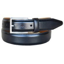 Lejon Executive Black Full Grain Leather Belt