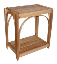 Amish Bentwood End Table - Solid Hickory