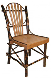 Rustic Hickory & Oak Dining Chair