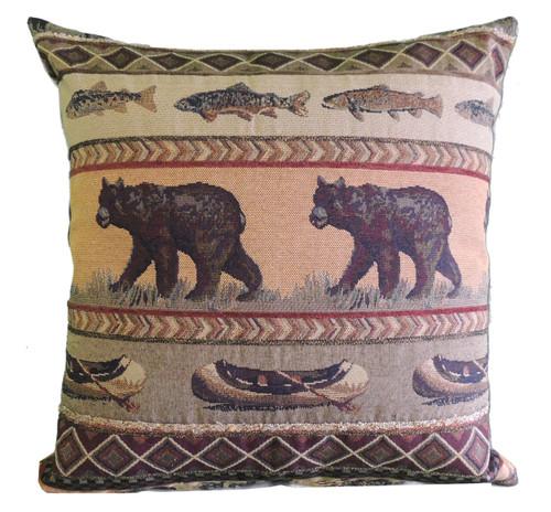Premium Rustic Throw Pillow