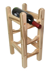 Wormy Maple Counter Wine Rack