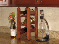 Cherry Counter Wine Rack - Customer Picture