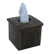 Barnwood Tissue Box Cover