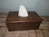 Barnwood Long Tissue Box Cover