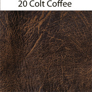 20 Colt Coffee Fabric
