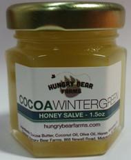 Cocoa Wintergreen Honey Salve