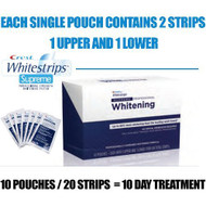 Crest Whitestrips Supreme Professional  28 Strips. = 14 day Treatment