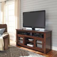 Harpan Reddish Brown Large TV Stand