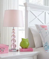 Letty Pink Crystal Table Lamp (1/CN)