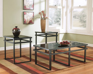 Laney Black Occasional Table Set (3/CN)