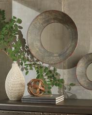 Carine Gray Medium Accent Mirror