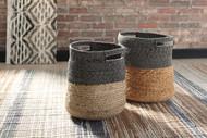 Parrish Natural/Black Basket Set