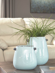 Diah Blue Vase Set