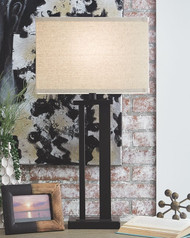 Aniela Bronze Finish Metal Table Lamp