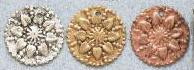 East Indian Metal Charm/Drop, Extra Large Coin Charm w/drilled hole through top, 20mm, raw brass, (36 pieces)