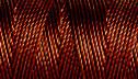 C-LON TEX 400 BEAD CORD, braided nylon multi-filament cord,  .9mm, 43 yards per bobbin, mahogany, (1 large bobbin)