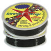 Stretch Magic Elastic String, Black, .5mm (fine), 25-meter spool, (1 spool)