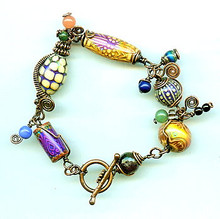 WIRE MIX 'N MATCH BRACELET (class and kit)