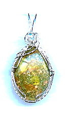 WIRE WRAPPED CABOCHON - PENDANT (class and kit)