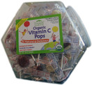 Yummy Earth Organic Vitamin C Pops, 30 oz. (125 Pops)