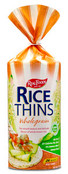 Real Foods Rice Thins Wholegrain