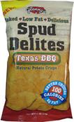 Glennys Spud Delites Texas BBQ, Case of 24 x 1.1 oz.