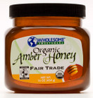 Wholesome Sweeteners Organic Amber Honey, 16 oz.