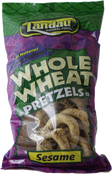Landau Whole Wheat Pretzels Sesame