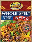 Shibolim Organic Whole Spelt Organic Orzo, 9 oz.
