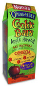 Nana's Omega Fiber Cookie Bars Apple Harvest, 6.17 oz.