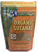 Wholesome Sweeteners Organic Sucanat, 16 oz.