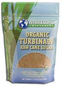 Wholesome Sweeteners Organic Turbinado Sugar, 24 oz.