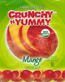 Crunchy n Yummy Organic Freeze Dried Fruit Mango, 1 oz.