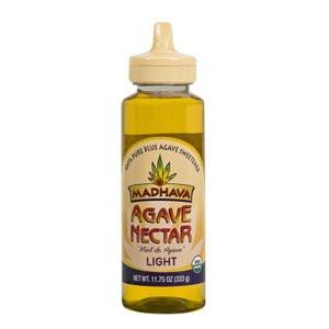 Madhava Organic Agave Nectar Light, 11.75 oz.