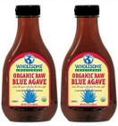 Wholesome Sweeteners Organic Raw Blue Agave Nectar, 23 oz (Pack of 2) - FREE Shipping