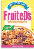 New Morning Organic Fruit-e-O's Cereal, 8 oz.