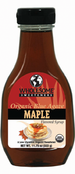 Wholesome Sweeteners Organic Blue Agave Nectar Maple Flavored, 11.75 oz.