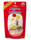 Yummy Earth Organic Fruit Lollipops, 3 oz (Pack of 12)