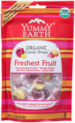 Yummy Earth Organic Candy Drops Assorted, 3.3 oz (Pack of 12)
