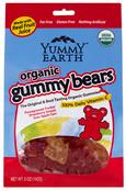 Yummy Earth Organic Gummy Bears, 2.5 oz.