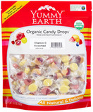Yummy Earth Organic Vitamin C Candy Drops Assorted, 13 oz.