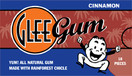 Glee Gum All Natural Gum Cinnamon, 16 Pieces